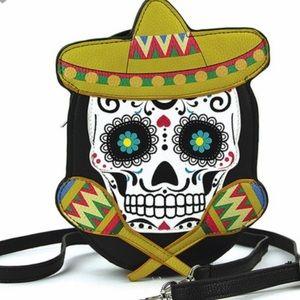 Handbags - Skull Cross Body Purse
